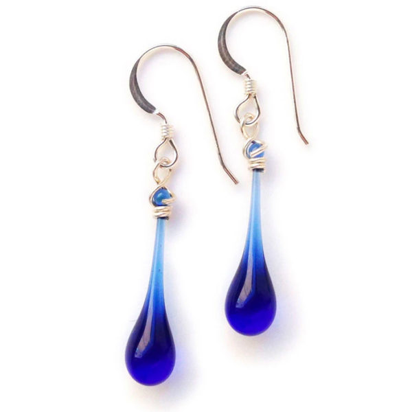 Solaris Cobalt Earrings