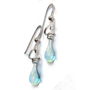 Tendril Earrings - Water
