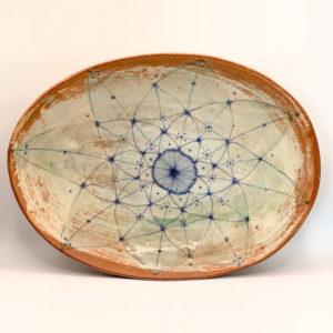 Julie Spako Large Oval Platter