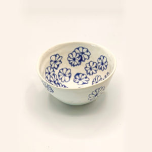 Julie Spako Blue and White Small Bowl
