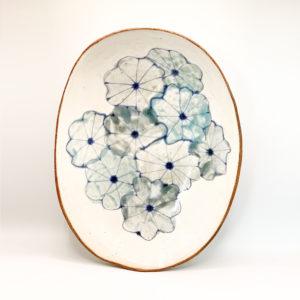 Julie Spako XL Floral Plattter