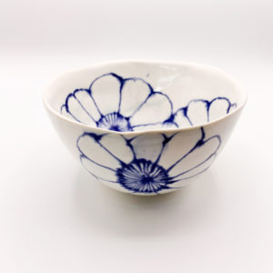 Julie Spako Navy and White Small Bowl