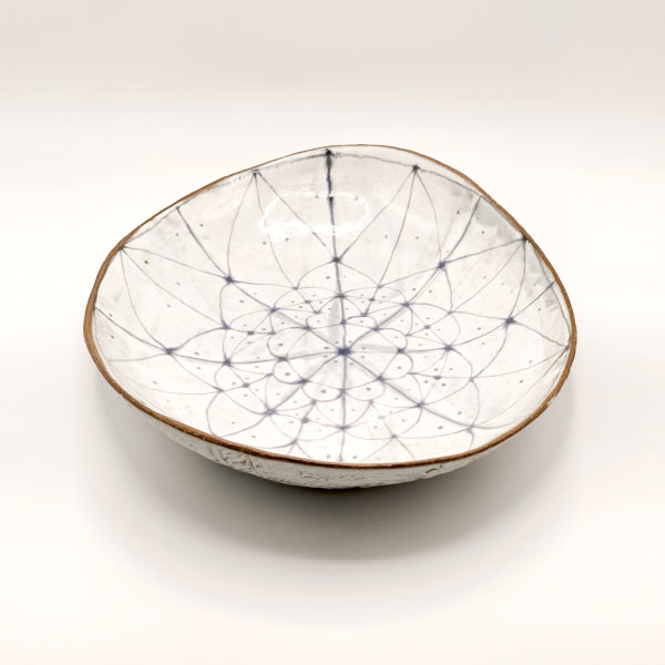 Julie Spako Clay Oval Serving Dish