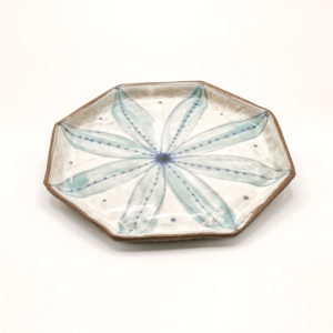Julie Spako Clay Octagon Plate