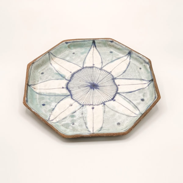 Julie Spako Clay Octagon Plate